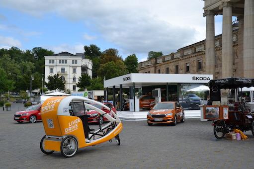LIVE & DRiVE-Roadshow von Škoda